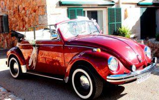 Alquiler de coche Escarabajo Cabrio 1971