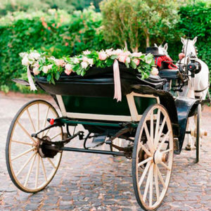 calesa boda Mallorca