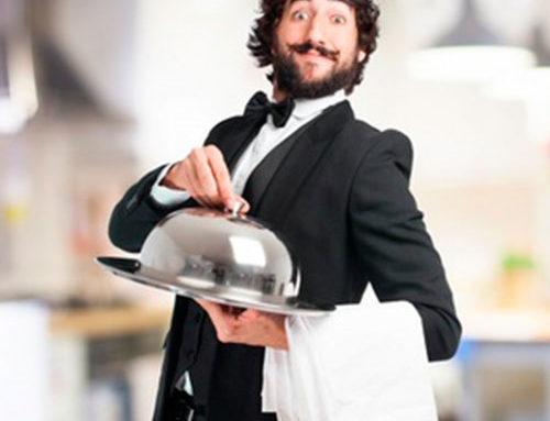 Undercover waiter